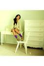 Purple-betsey-johnson-socks-beige-neal-by-neal-sperling-sweater-black-pins-a