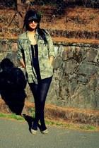 Zara jacket - Zara sunglasses