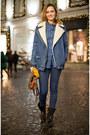 Black-zara-boots-blue-zara-jeans-blue-pull-ampbear-jacket