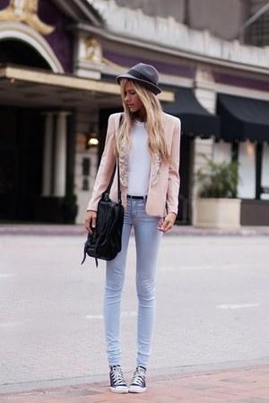 Hallelu blazer - Converse shoes - J Brand jeans - PROENZA SCHOULER bag