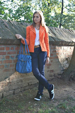 carrot orange random brand blazer - black Victory Vty shoes