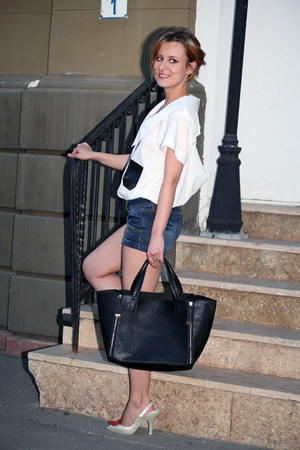 Lucian Rusu shirt - Bershka bag - Bershka shorts