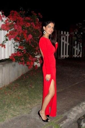 skinfit satin DICE dress