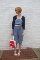 ModClothcom pants - ModClothcom sweater - vintage purse - vintage belt - ModClot