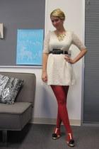 ModClothcom necklace - ModClothcom dress - ModClothcom tights