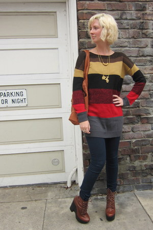 Jack by BB Dakota sweater - Jeffrey Campbell boots - Cheap Monday jeans