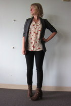 Jeffrey Campbell boots - BB Dakota blazer - ModClothcom top