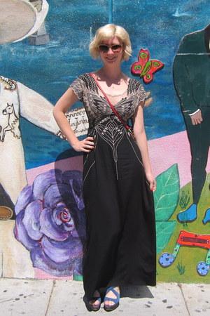 sugarhill boutique dress - magnes sisters bag - modcloth sunglasses