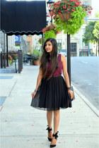 black bow ami clubwear heels