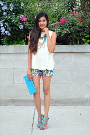 turquoise blue Moddeals heels