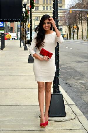 ruby red JustFab heels