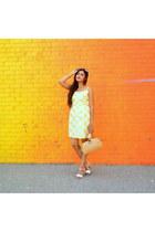 yellow gingham Hutch Design dress