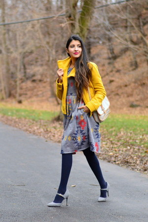mustard papaya jacket