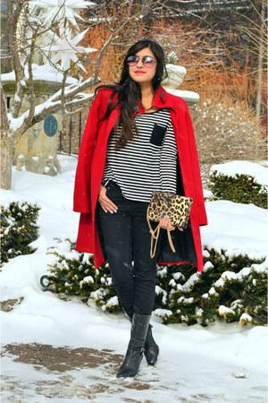 red Via Spiga coat
