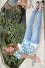 Periwinkle-skinny-jeans-ovs-jeans-black-fornarina-sandals