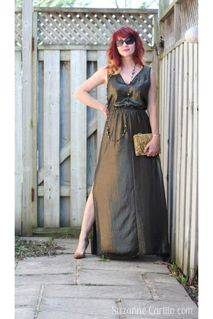 gold Leith dress
