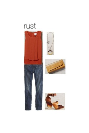 Anthropologie shoes - jeans JCrew jeans - wood Anthropologie bag