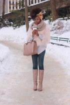 mustard turban Echo Design scarf - tan Zara boots