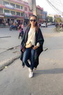 Zara-jeans-colette-hayman-bag-goldstar-sneakers-dkny-watch