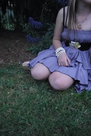 diva bracelet - op shop skirt - cotton on bra