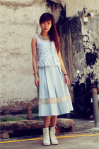 Topshop blouse - Topshop skirt