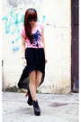 Zara-skirt-vancl-t-shirt