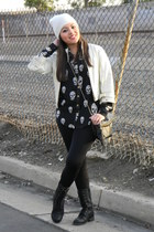 Charlotte Russe boots - H&M bag