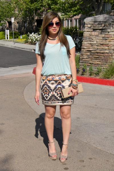 H&M shirt - Bakers heels