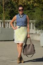 f21 shirt - f21 heels