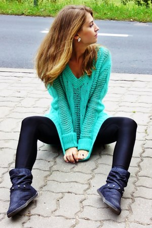 aquamarine voe sweater