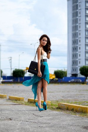 white Style Staple dress - aquamarine Call it Spring shoes
