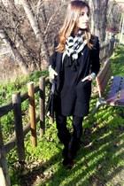 tintoretto blazer - Mango blazer - Zara boots - BLANCO dress
