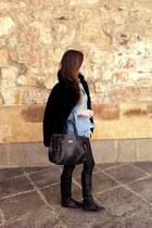 Mauro Leone boots - BLANCO jacket - Bershka leggings - Zara shirt