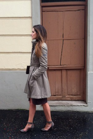 Zara shoes - purificación garcía coat - Acosta bag - River Woods skirt