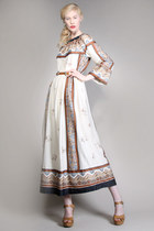 folk art vintage dress