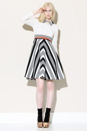 striped dress vintage dress