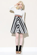 striped dress vintage dress