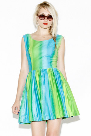 ombre vintage dress