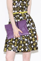 purple envelope bag