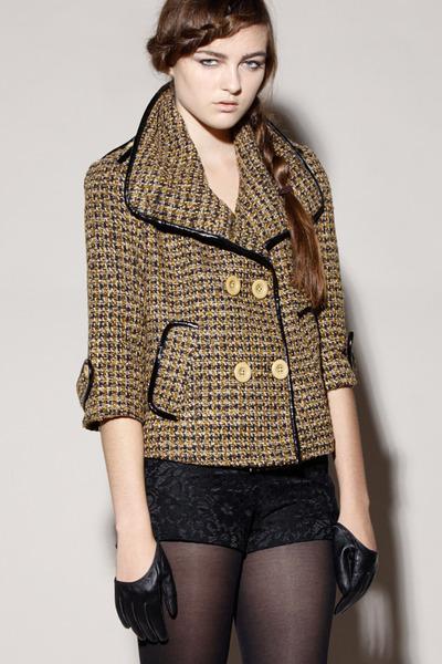 tweed jacket jacket