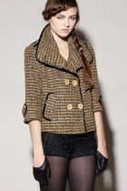 tweed jacket jacket
