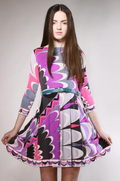 silk Emilio Pucci dress