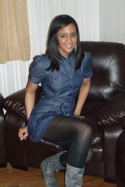 Blue Dresses Gray Boots  &quotNavy Blue&quot by TLost  Chictopia