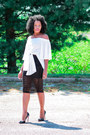 White-off-shoulder-sheinside-blouse-black-skirt-skirt