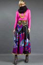 Jeffrey-campbell-shoes-gold-fringe-diy-necklace-vintage-80s-skirt-hot-pink