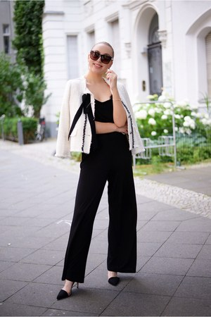 black jumpsuit H&M romper