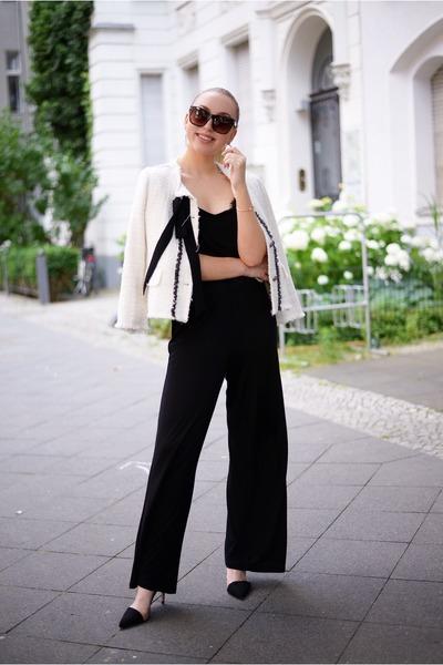 black jumpsuit H&M romper