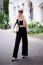 Black-jumpsuit-h-m-romper