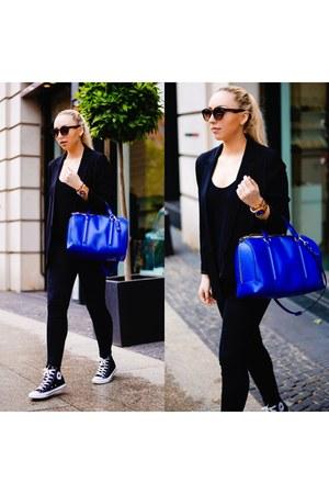blue Zara bag