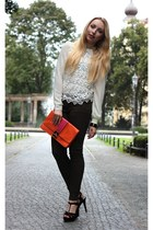 Sheinside shirt - Primark bag - Zara pants